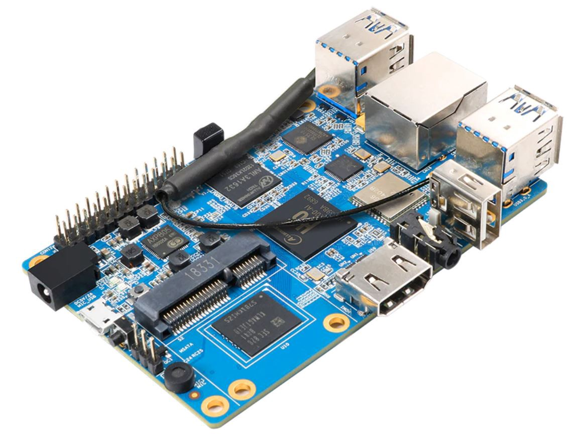 The Orange Pi 3 Is a $30 Single-Board Computer with an Allwinner H6 SoC