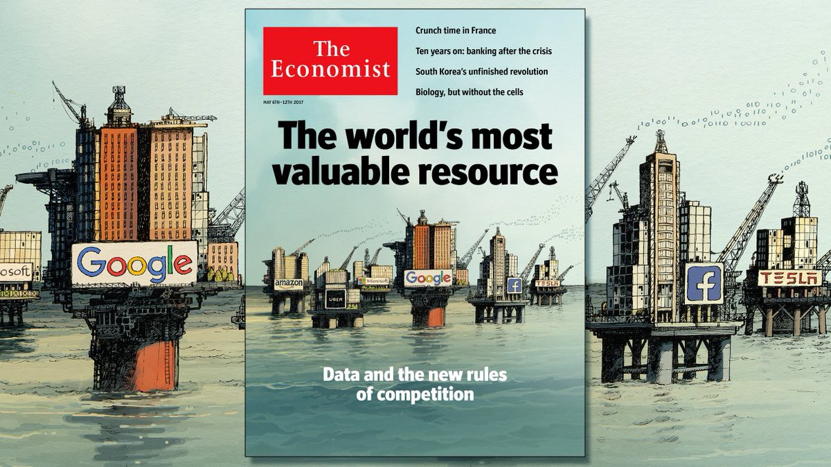 """Image result for economist """"the new oil"""""""