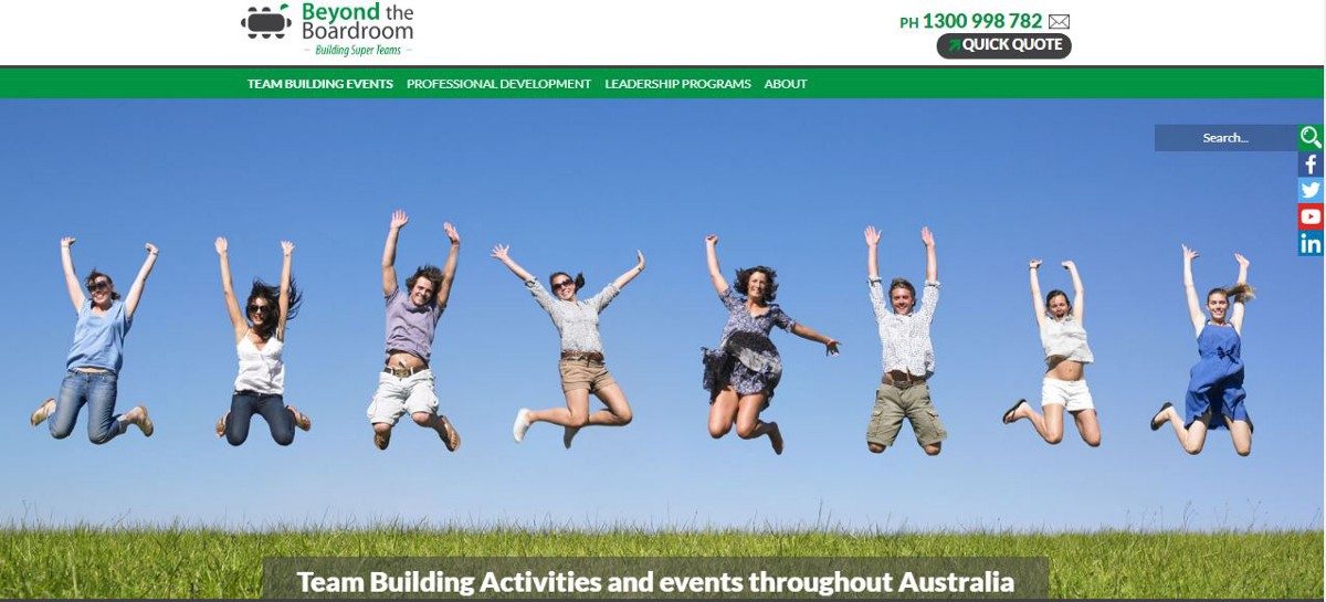 Team Building Activities and events throughout Australia