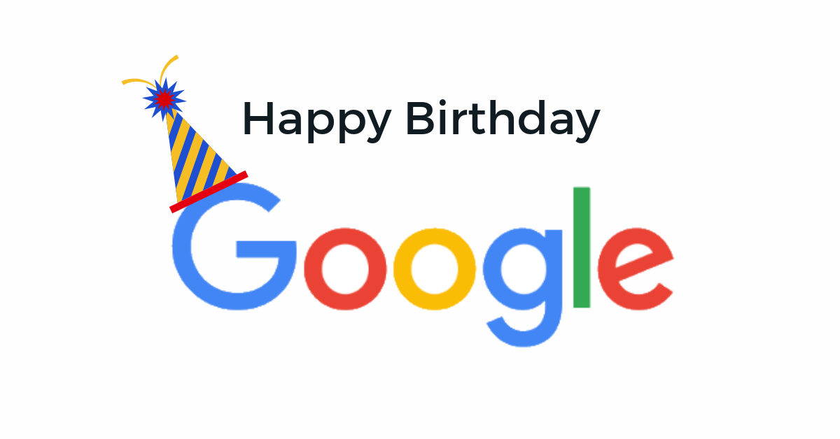 Google Turns 20 Let S Take A Moment To Appreciate It By Arun Balakrishnan Kissflow Culture Explore Our Butterfly Effect