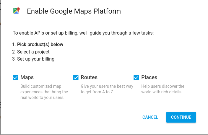 Quickly Getting Started with Google Maps API w/Python (July 2018