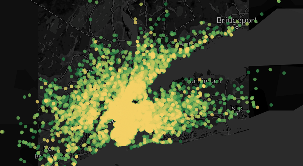 Data Visualization of Uber Rides with Tableau