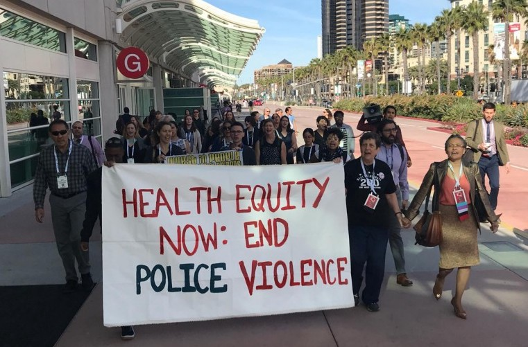 Addressing Police Violence As a Public Health Issue: APHA's