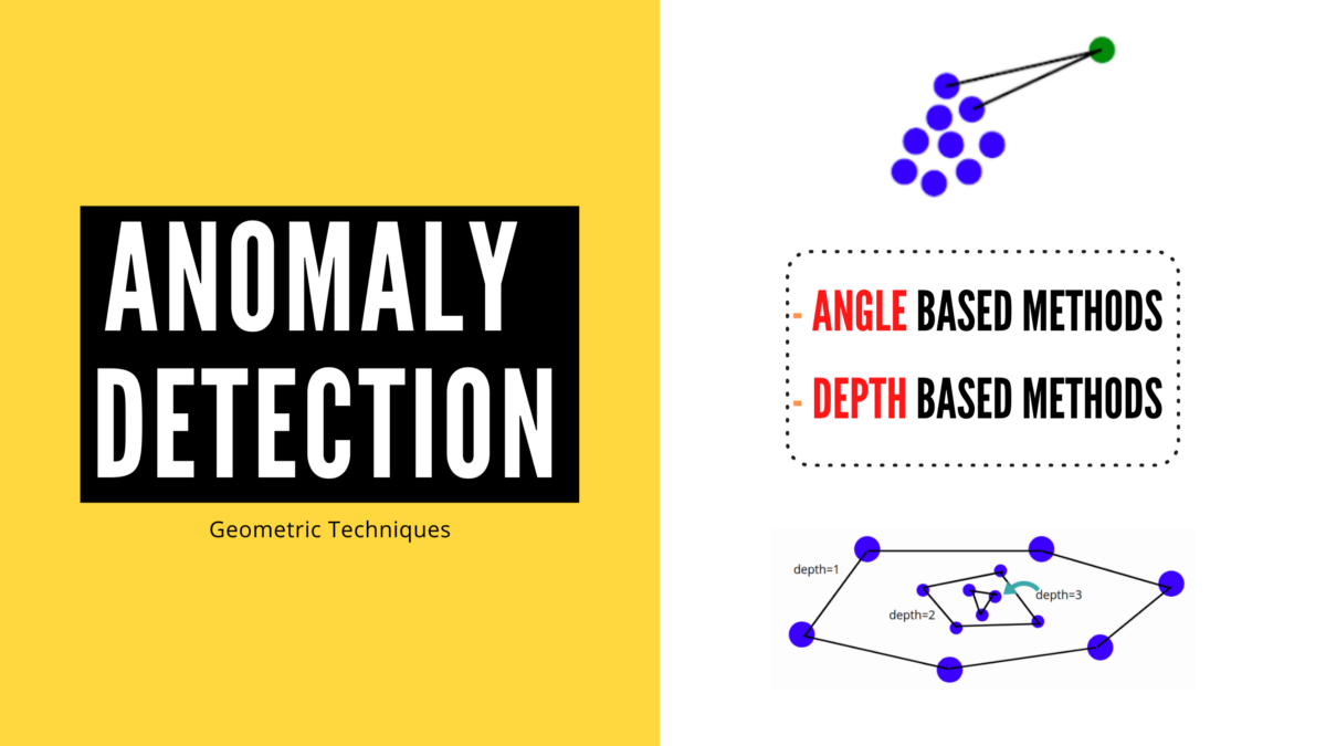 Geometric Models for Anomaly Detection in Machine Learning