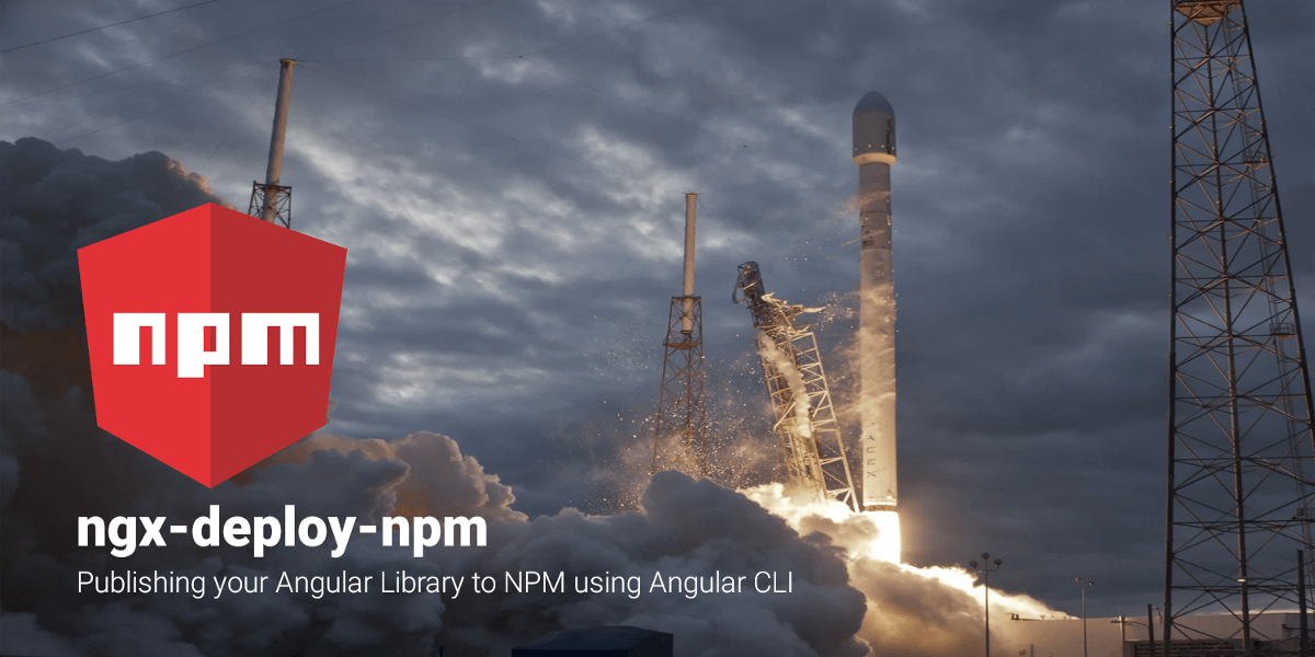 `ng deploy` your Angular Library to NPM