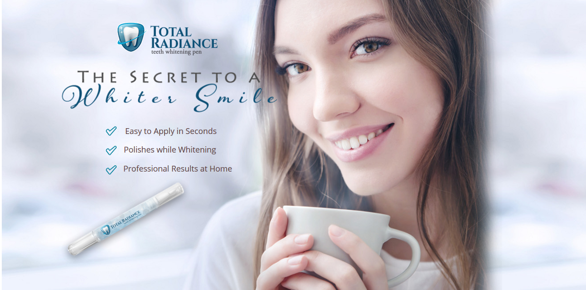 Total Radiance Teeth Whitening Pen Reviews Side Effects Scam