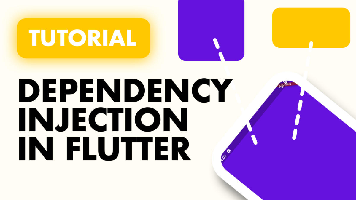 In this tutorial we will cover the three forms of the accepted dependency injection in Flutter.