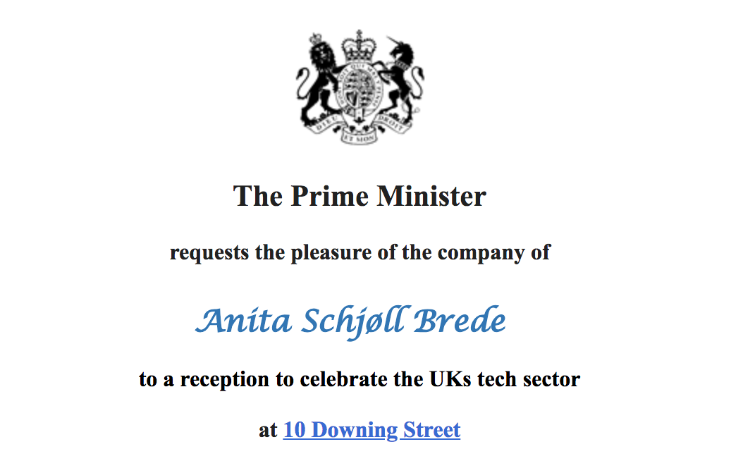 Madam Prime Minister: Thank you, but we respectfully decline your