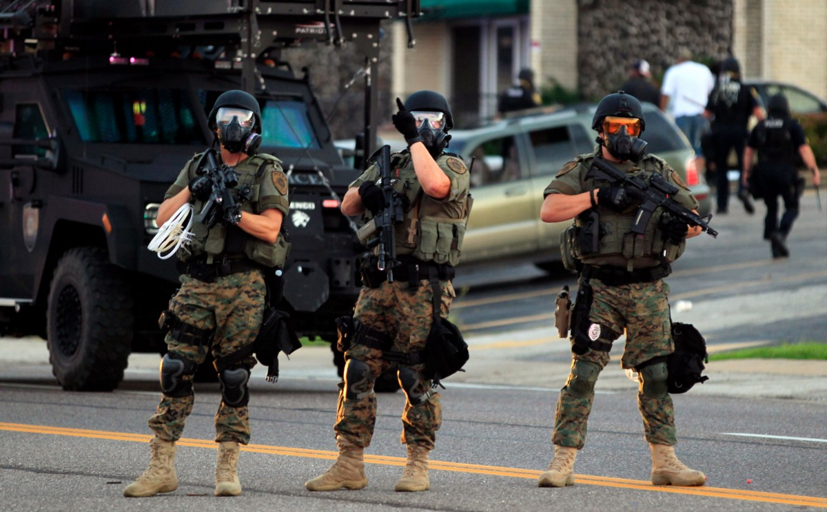 The racial unrest of 1967 led directly to the militarization