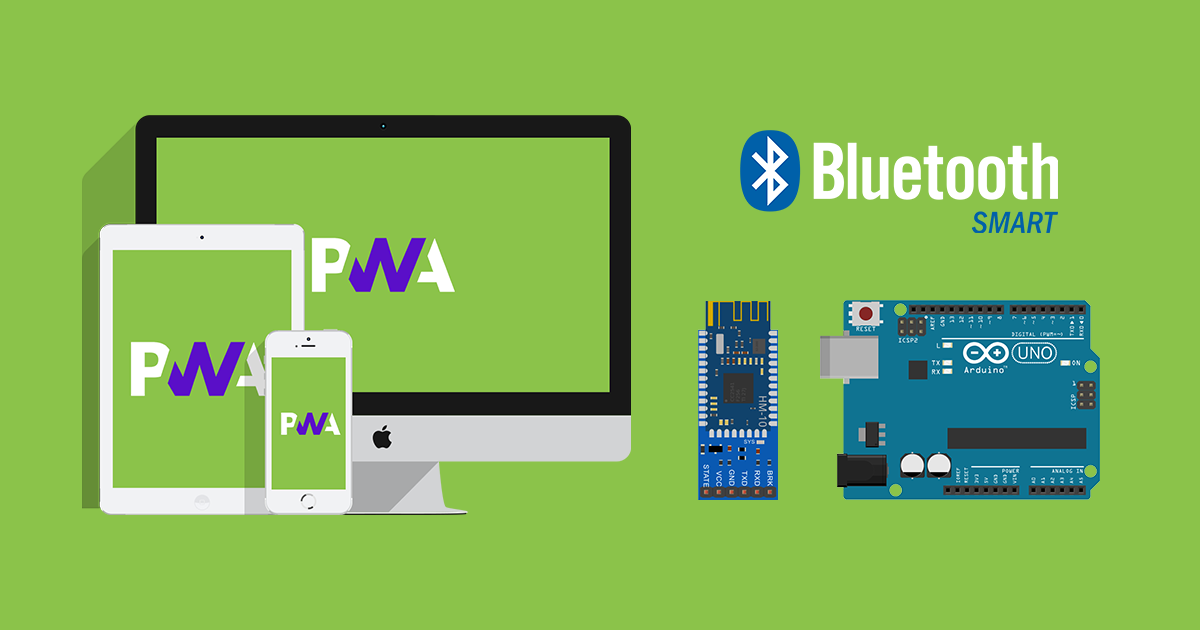 How to make a web app for your own Bluetooth Low Energy device?