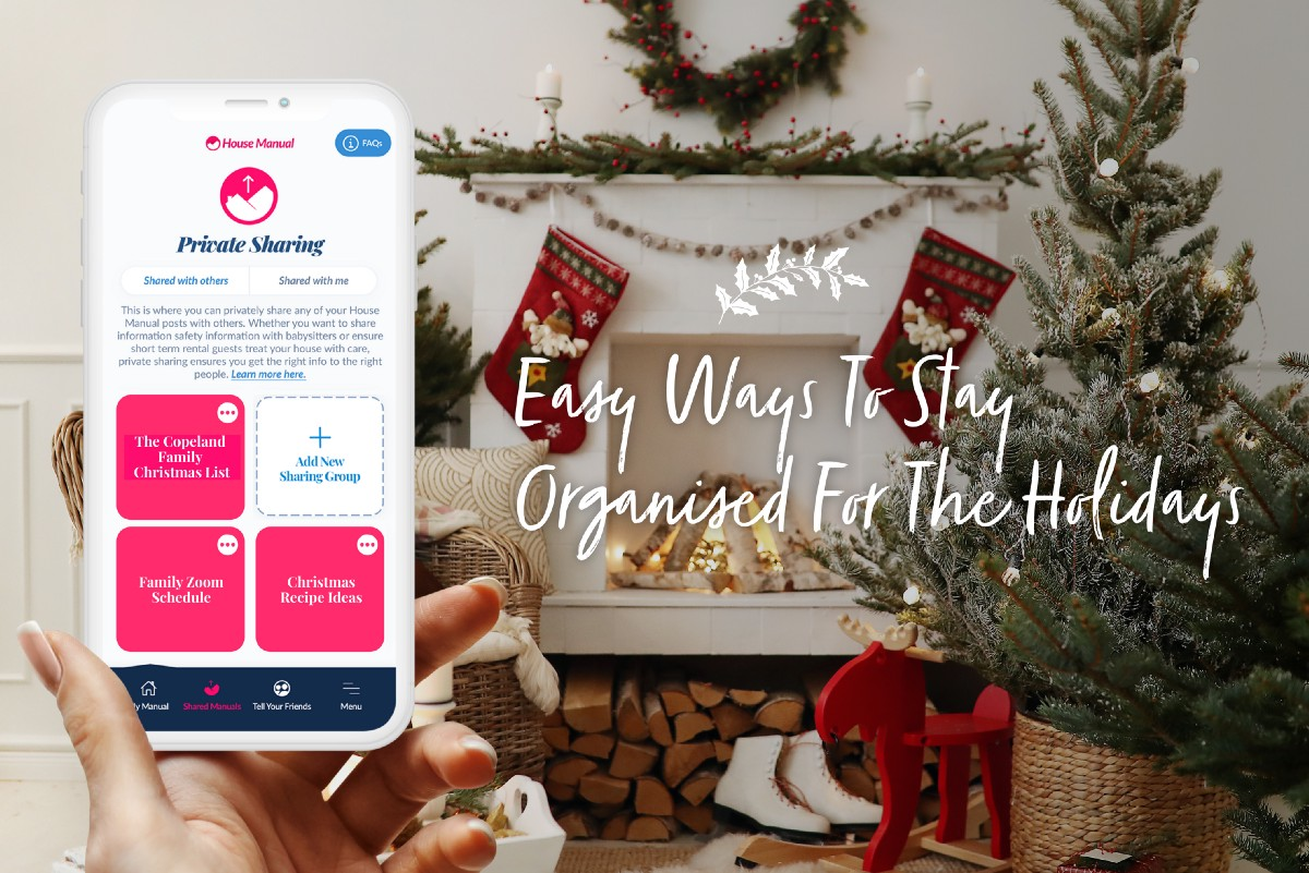 Easy Ways to Stay Organized for the Holidays