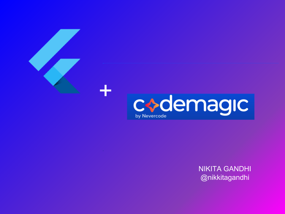 5+5 reasons why Flutter + Codemagic will own mobile application
