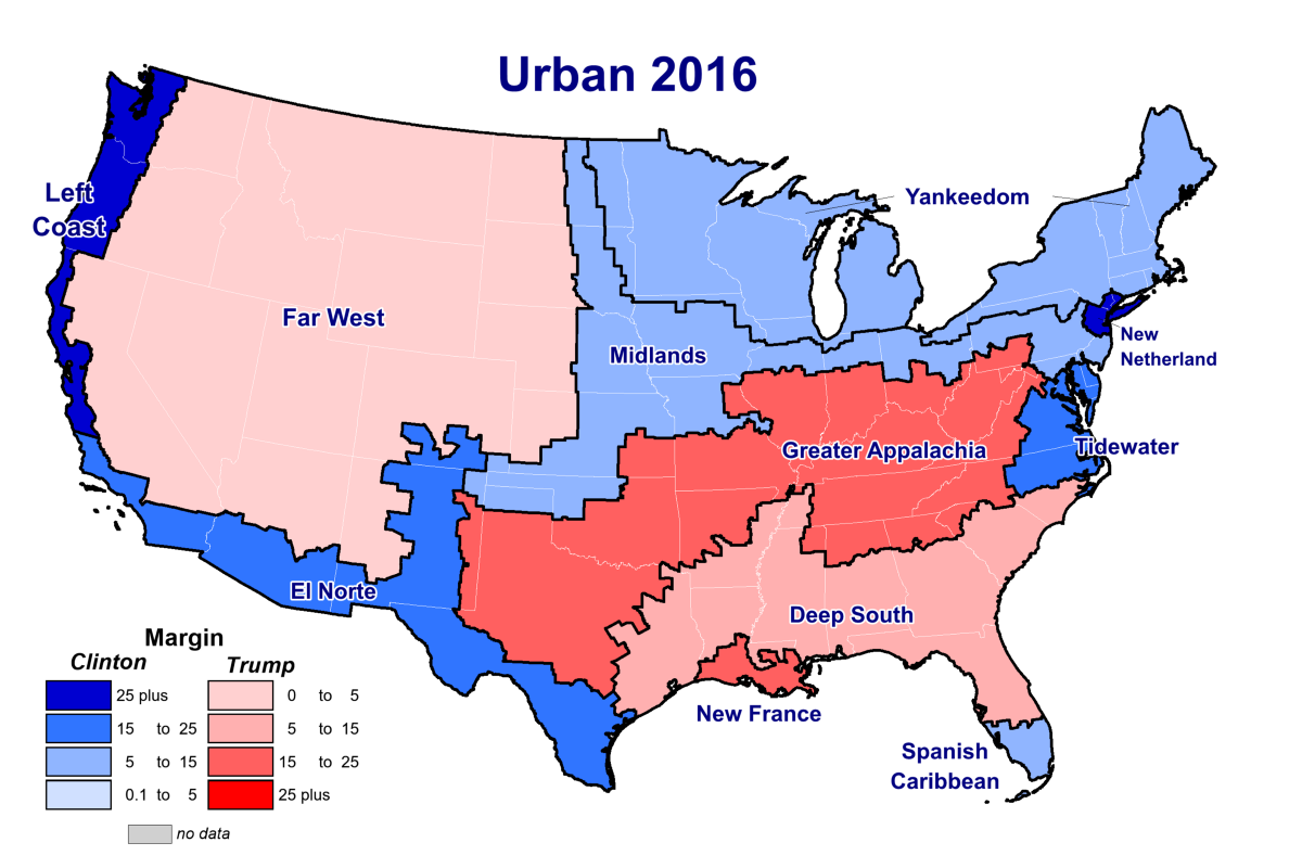 No, the Divide in American Politics Is Not Rural vs. Urban ...