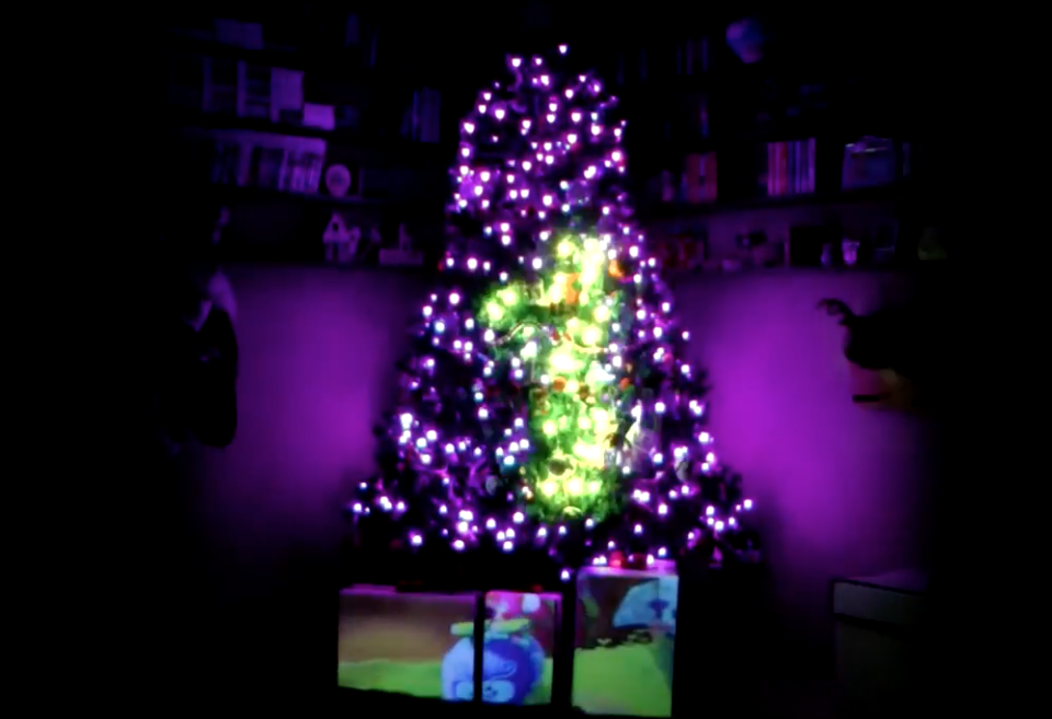 Amazing Christmas Tree Lights and Sound Show - Hackster Blog