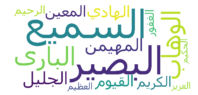 Modeling Topics from The Nobel Quran using Machine Learning