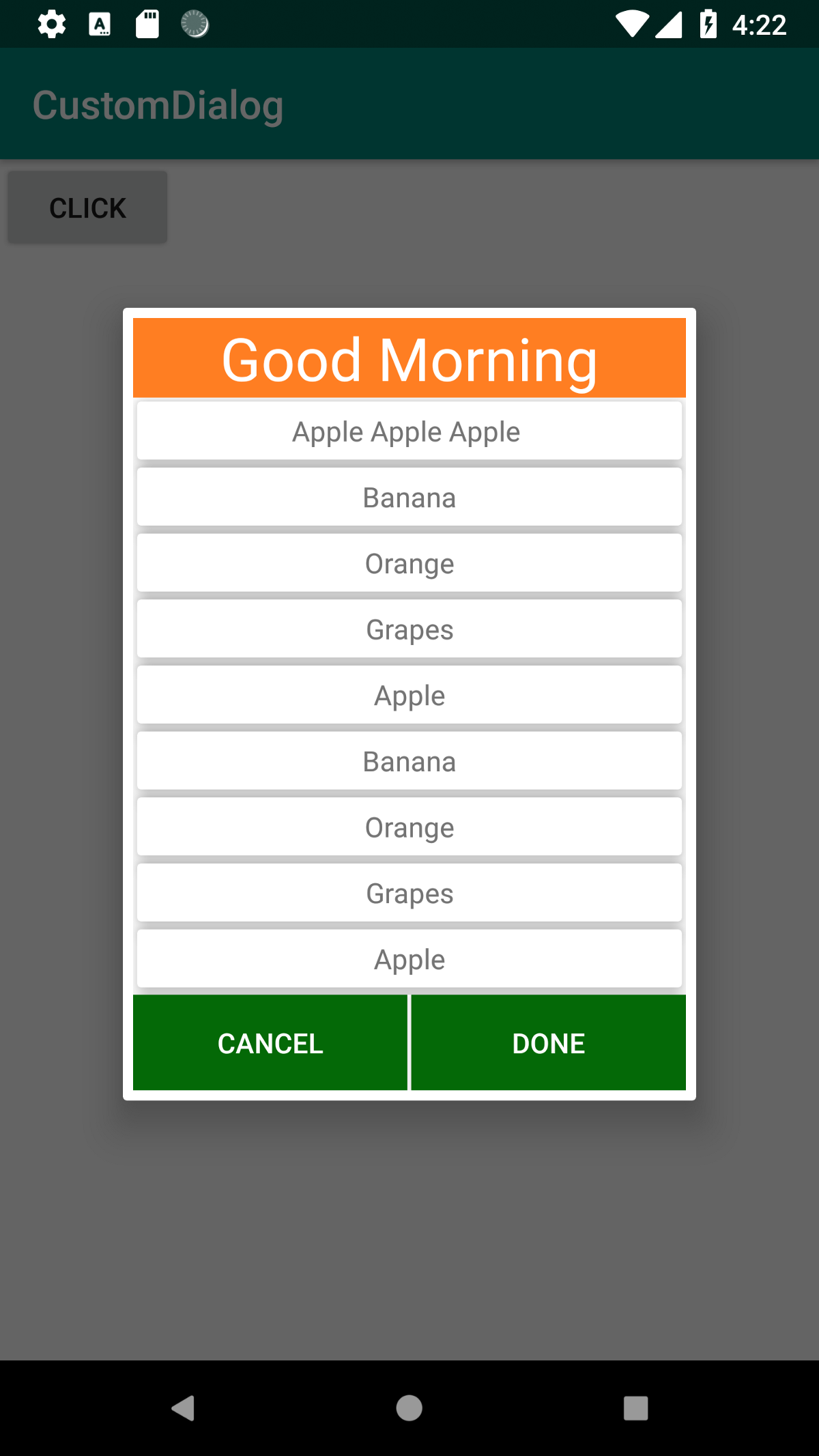 Android - Custom Dialog with List Of Items (Java & Kotlin) !!