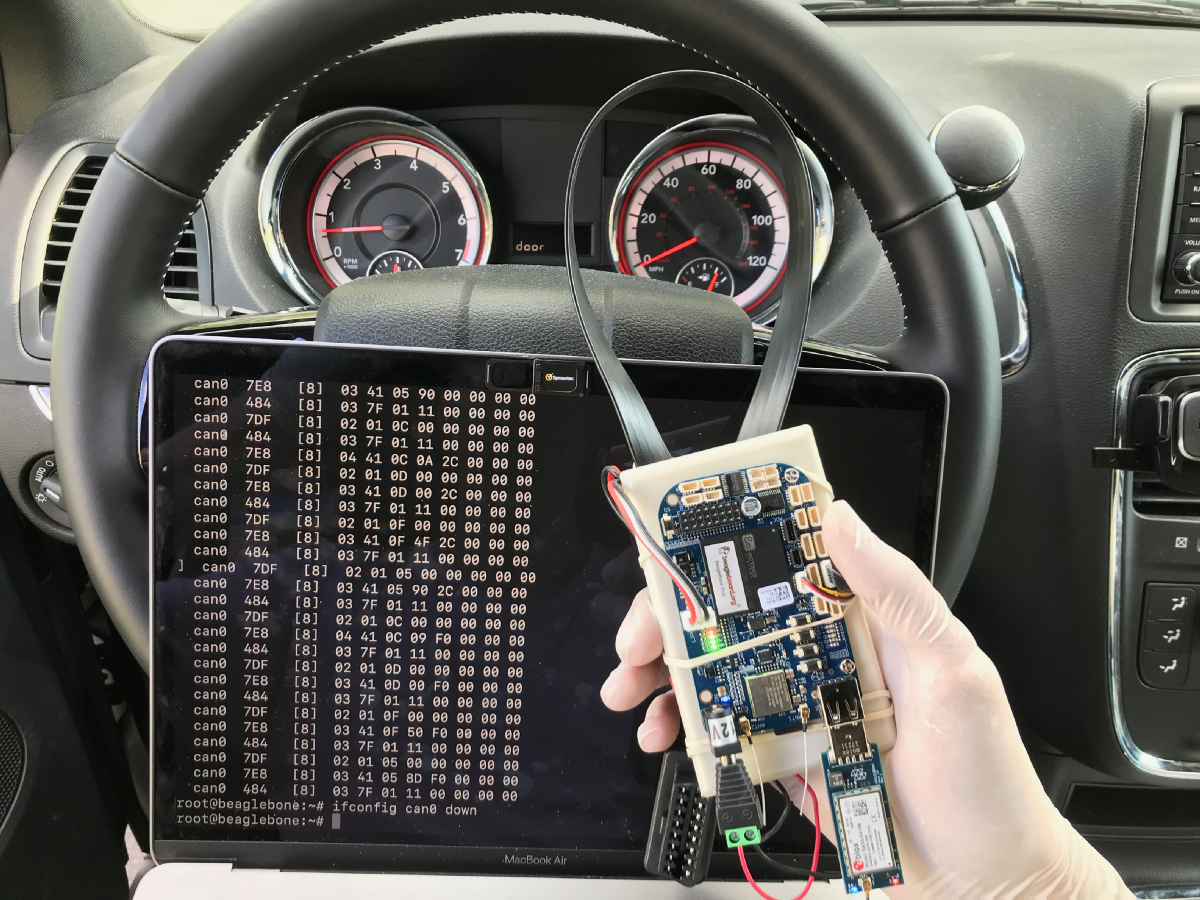Car Hacking with Python — Part 1 Data Exfiltration: GPS and OBDII/CAN Bus