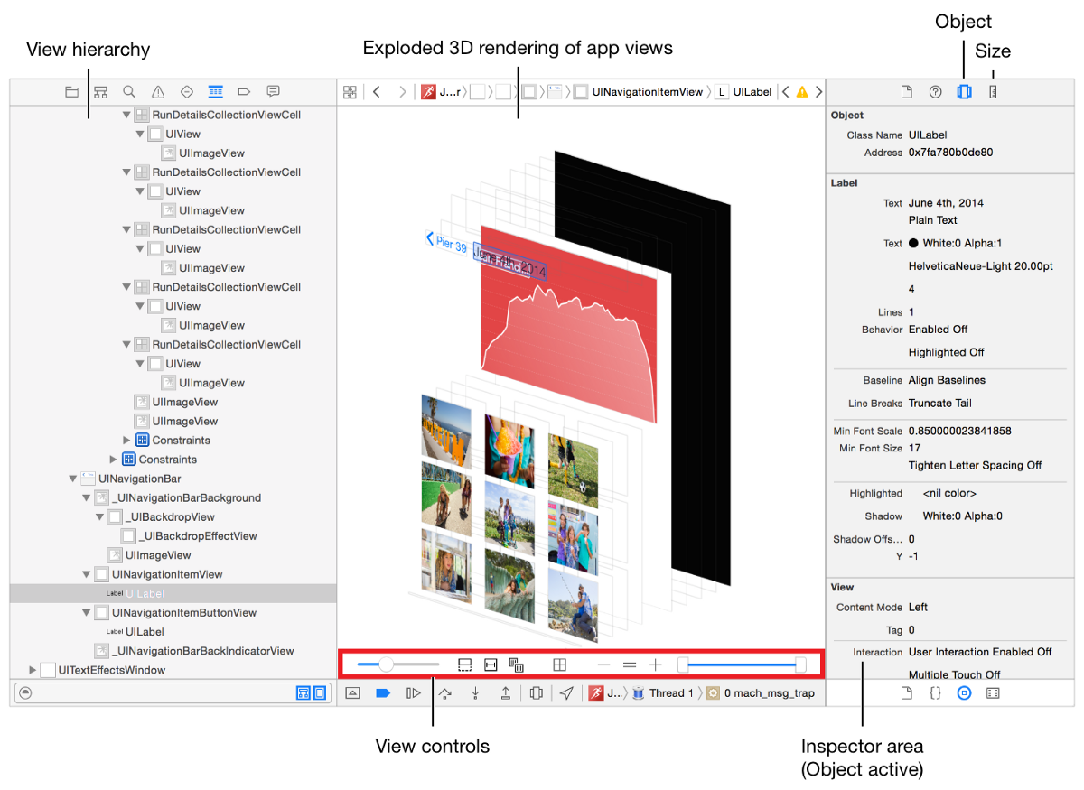 Inspecting and Changing Visual Elements With LLDB and View Debugger