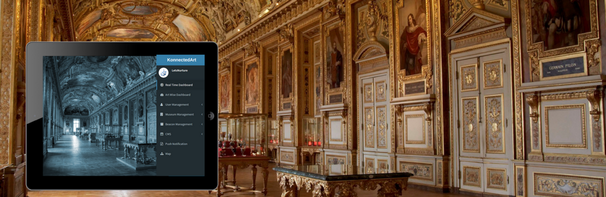 LetsNurture Brings 'Konnected Art', iBeacon Technology, with