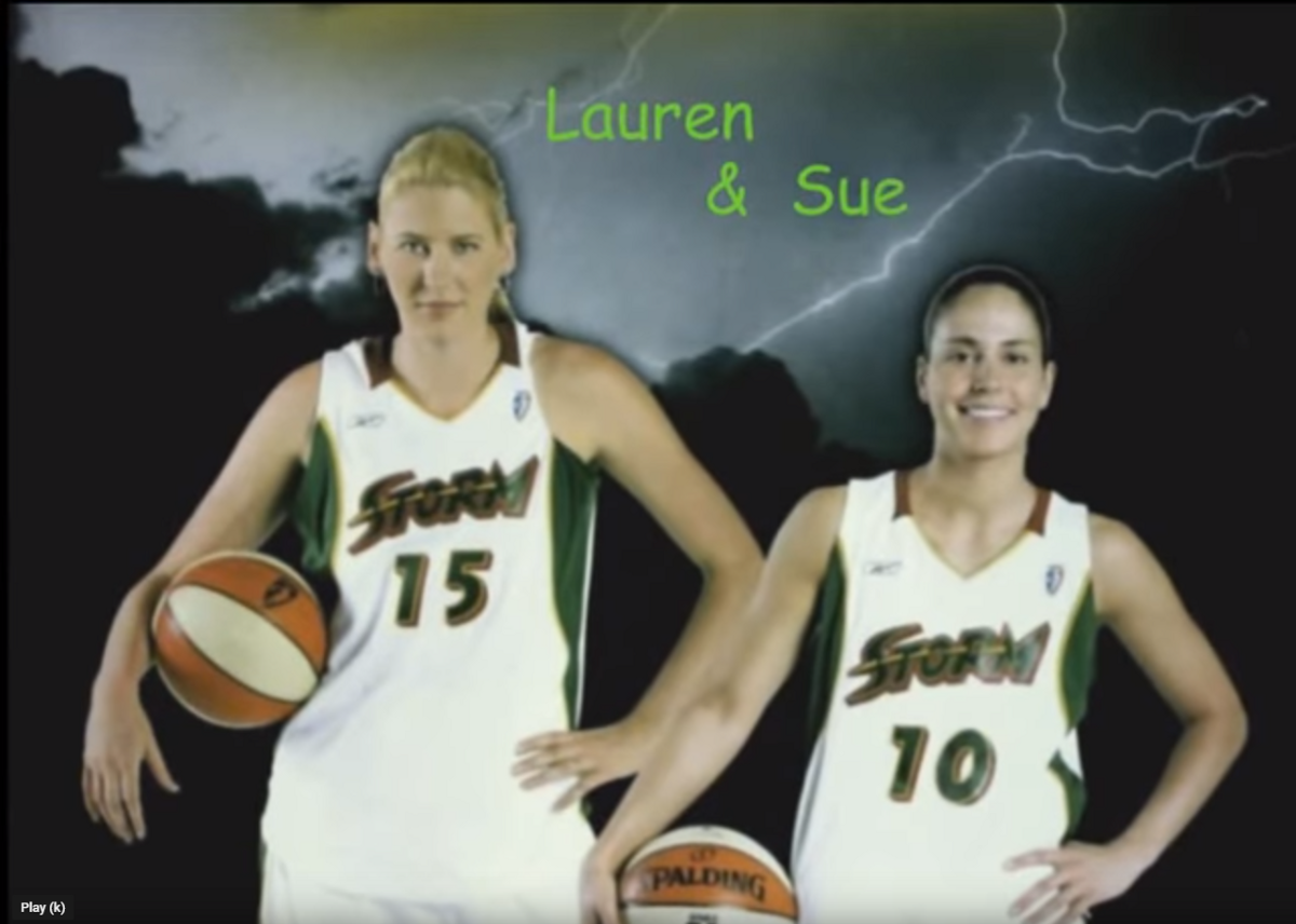 37484da631 Let's remember when the Seattle Storm drafted Lauren Jackson and Sue Bird,  on this day in 2001 and 2002 (April 20)