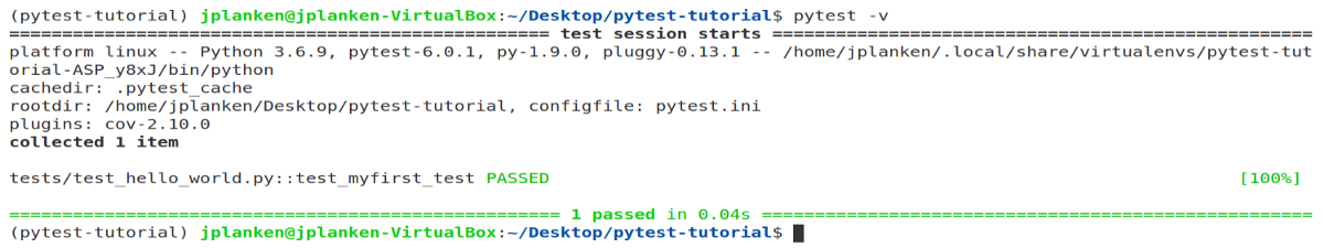 PyTest Part 1: Learn the basics (the fastest way).