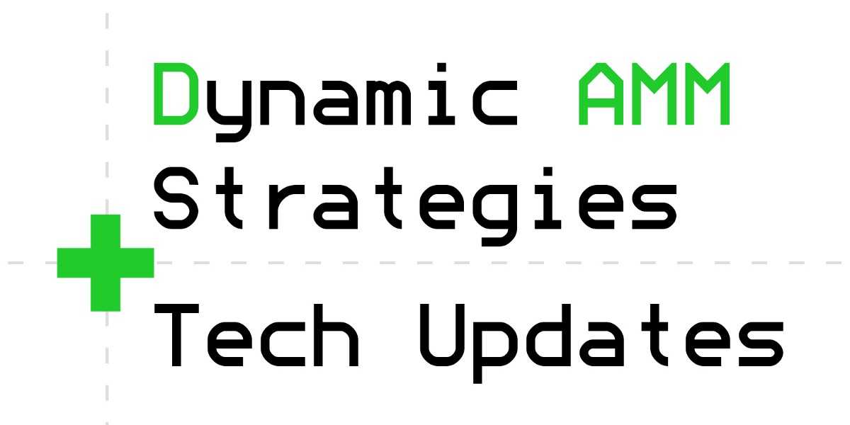 PowerPool Dynamic AMM strategies and other Tech Updates