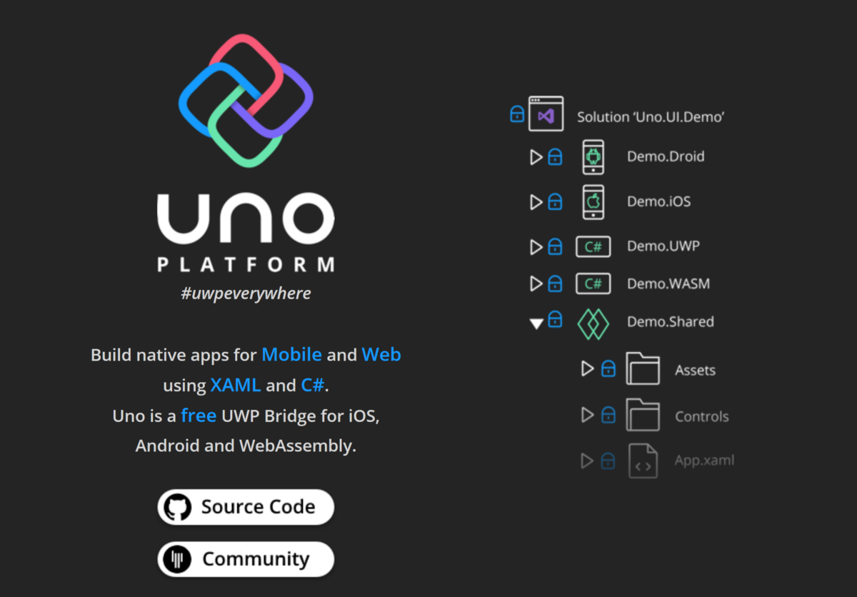 Cross Platform Mobile Apps with .NET and Uno