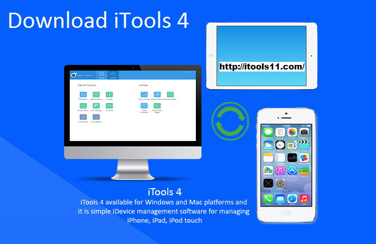 Are you ready to try out iTools 4? iTools 4 download