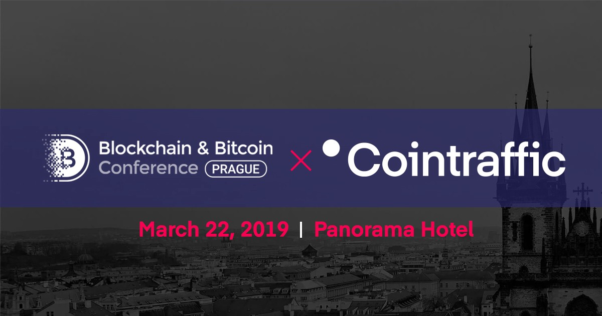 Cointraffic x The 2019 Blockchain & Bitcoin Conference In Prague