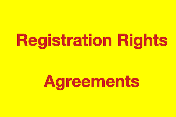Registration Rights Agreements