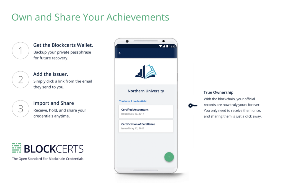 The New Blockcerts Mobile App
