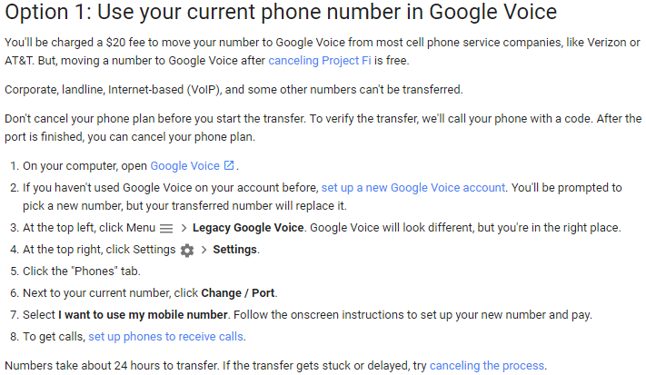 Porting Vonage Number to Google Voice - Ashish Billava - Medium