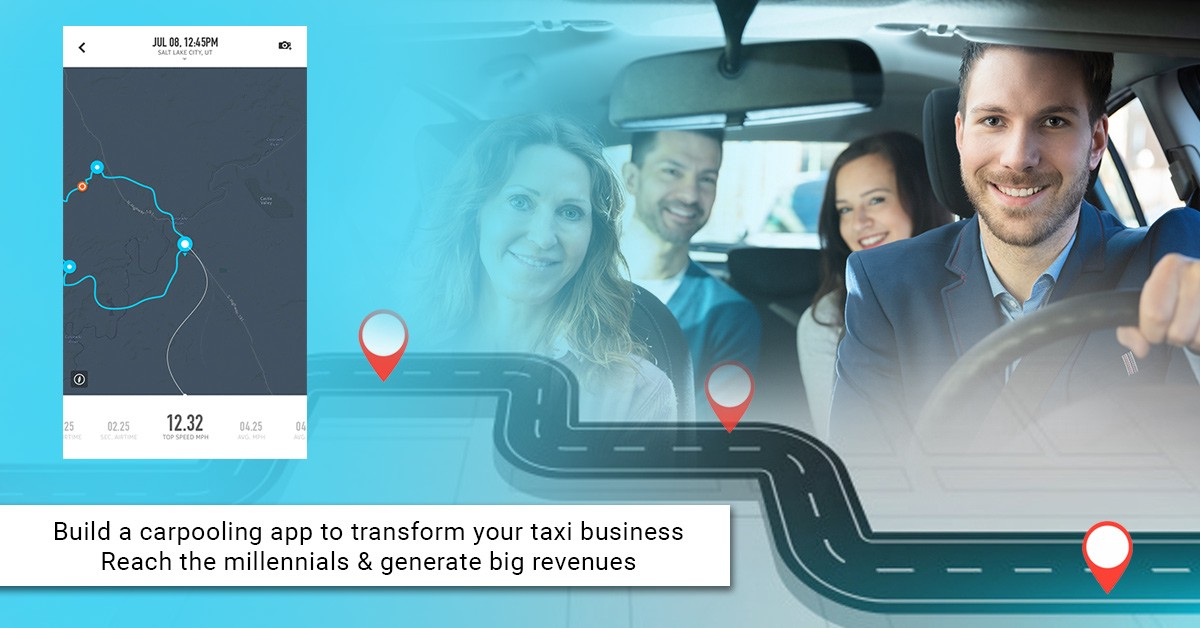 Build a carpooling app to transform your taxi business
