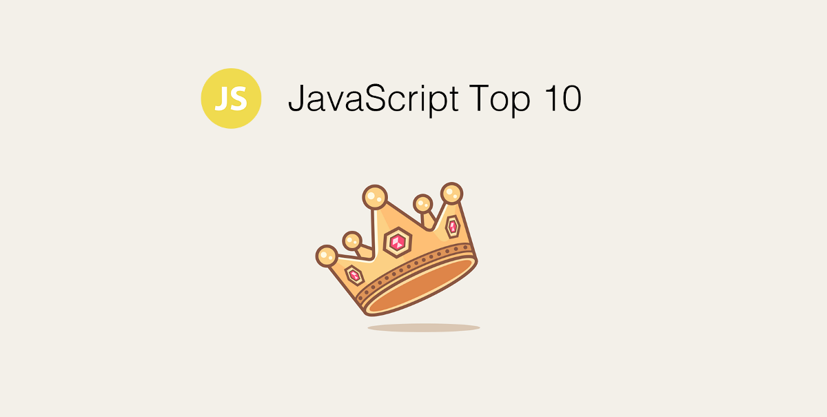 JavaScript Monthly Top 10 for the Past Month (v.August)
