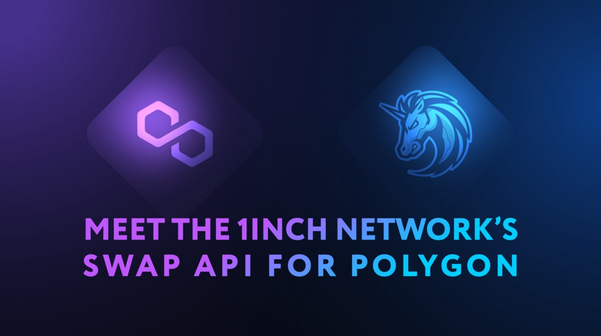 Meet the 1inch Network's swap API for Polygon