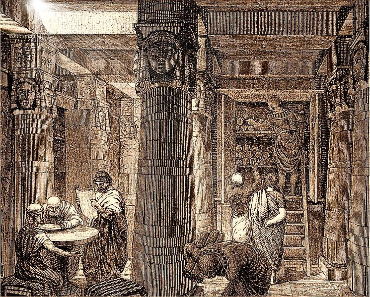 The Great Library of Alexandria: A Library Whose Aim was to Contain A Copy of Every Book Ever…