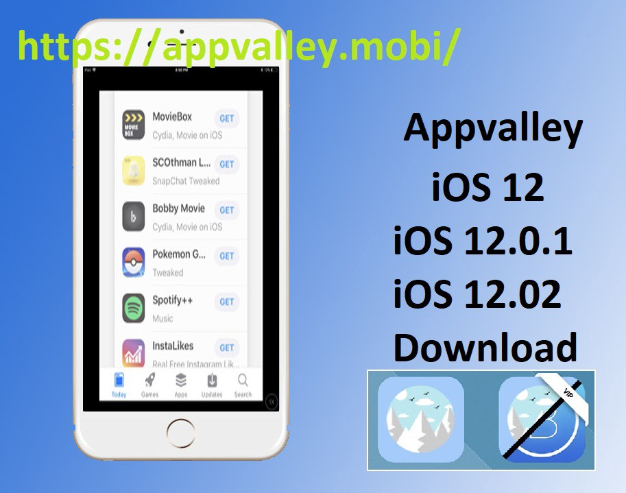 Appvalley latest version free download for iOS 12, iOS 12 0