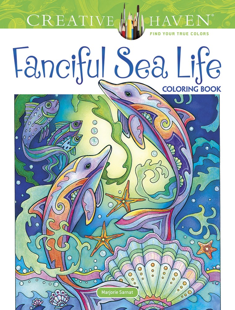 Artist Marjorie Sarnat\'s Latest Coloring Book Available Now!