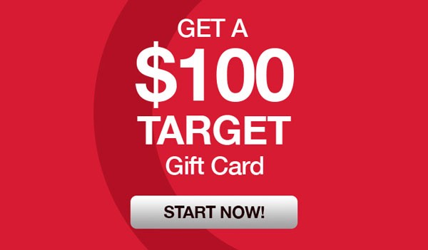Get a $100 Dollar Target Gift Card