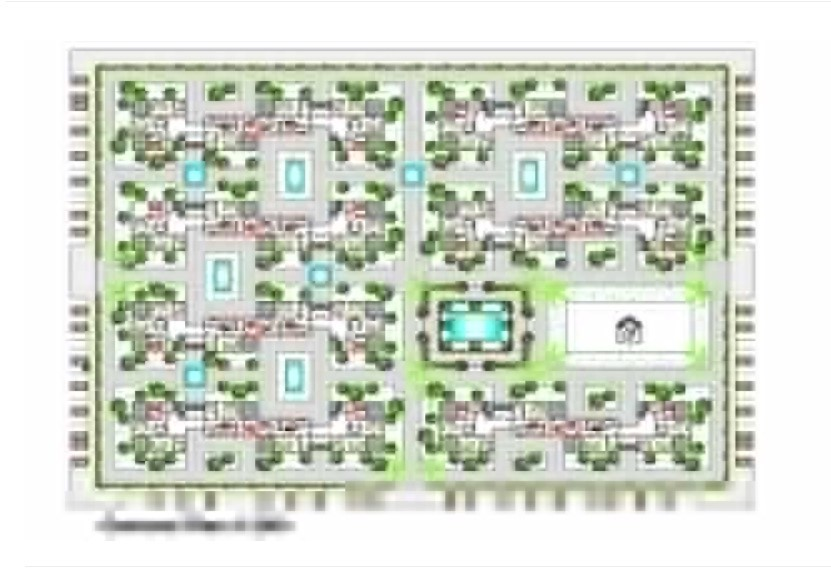 General plan of a residential apartment in AutoCAD file