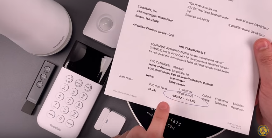 A SimpliSafe Security System Can Be Bypassed with a $2 Device