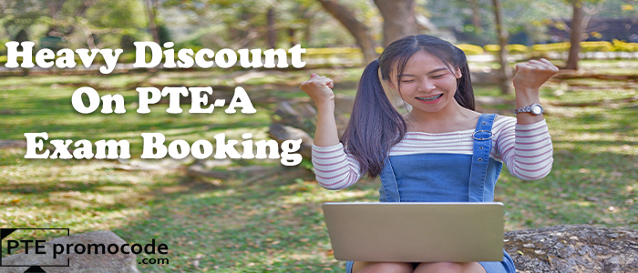 Heavy Discount on PTE examination booking with PTE Voucher