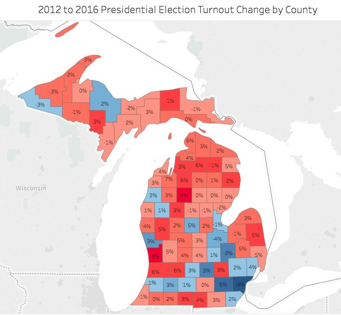 The Impact of Voter Turnout: 2016 Presidential Election ...