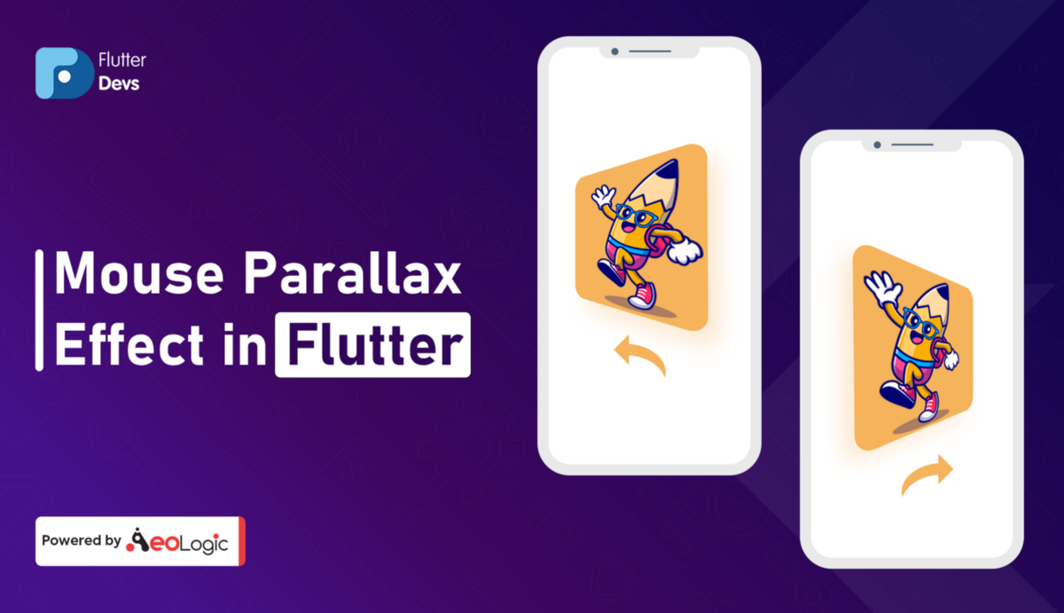 Mouse Parallax Effect In Flutter