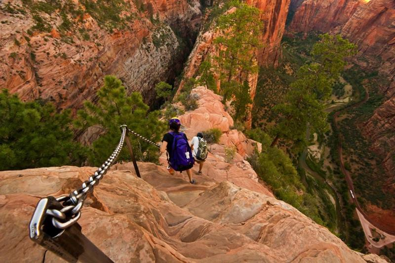 Top 10 Most Dangerous Hiking Trails in the World Must Watch At least Once