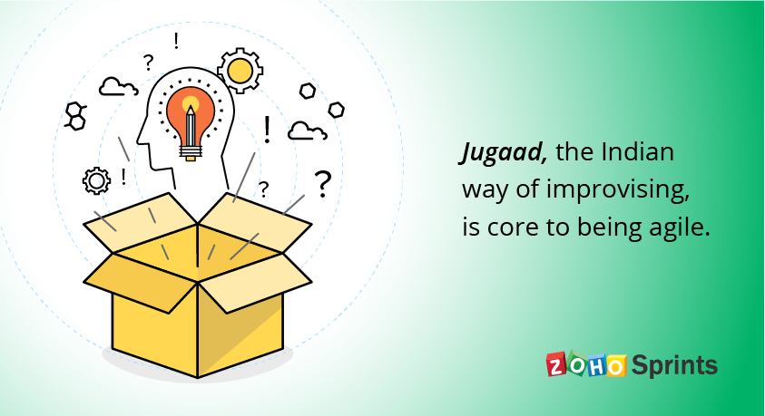 Agile is a formalization of jugaad - Work Insights