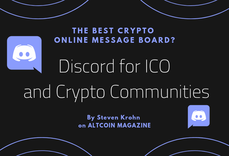 How to Use Discord to Promote an ICO Or Crypto - ALTCOIN MAGAZINE