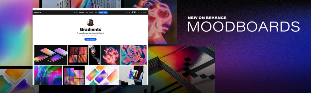 Introducing Moodboards on Behance