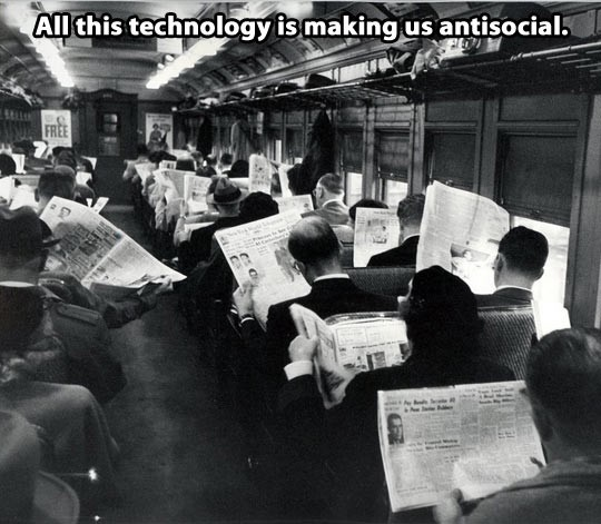 Image result for people on train with newspaper