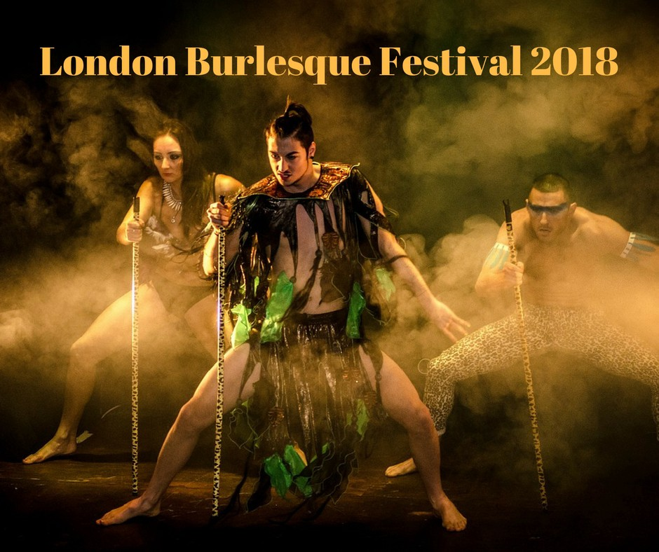 London Burlesque Festival 2018 - The Edward Hotel - Medium